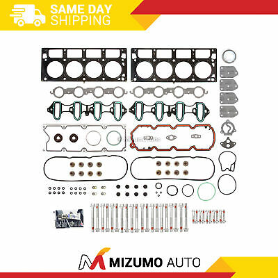 Fit 04-08 Chevrolet GMC Buick Cadillac 4.8 & 5.3 OHV (MLS) Head Gasket Bolts Set