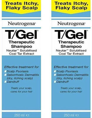 Neutrogena T/GEL Therapeutic Shampoo 250ml Pack of 2