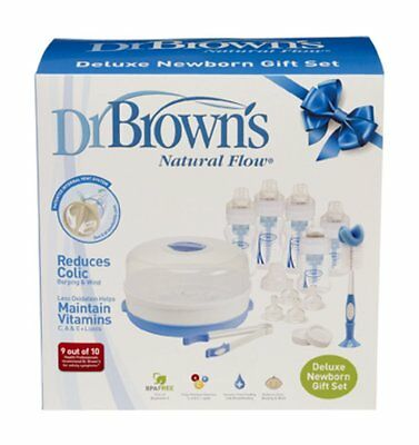 Dr Brown's Deluxe Newborn Feeding Gift Set
