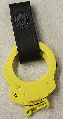 Boston Leather Handcuff Strap Plain Black 5519-1