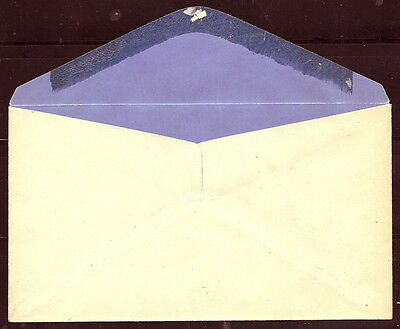 Hawaii #u9 Rare Blue Inside Envelope