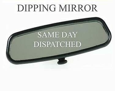 Quality Replacement Broken Interior Rear View Mirror Including Pad Dipping