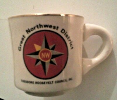 Boy Scouts of America BSA Great Northwest Theodore Roosevelt Council Coffee Mug