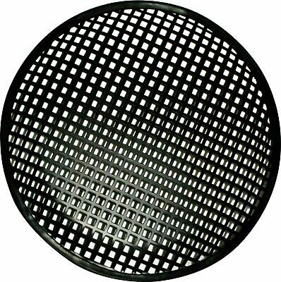 10 Inch Subwoofer Speaker Covers Waffle Mesh Grill Grille Protect Guard