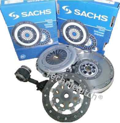 Ford Mondeo 1.8 Tdci 5 Sp Clutch Kit, Slave Bearing And Sachs Dual Mass Flywheel