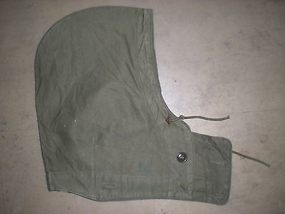 Original Wwii Us Army M-1943 Field Jacket Hood In Very Good Used Condition