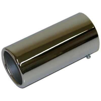 Quality Exhaust Tail Pipe Chrome Trim Tip End Muffler 35mm-48mm