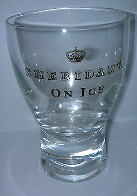 Sheridan's On Ice Highball Drinking Glass Collectible New rare