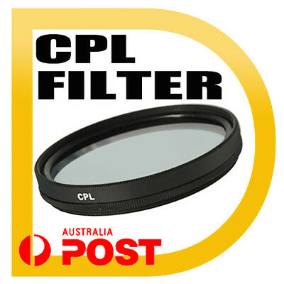NEW Premium Quality 55mm CPL Filter Canon Nikon Sony 55 MM