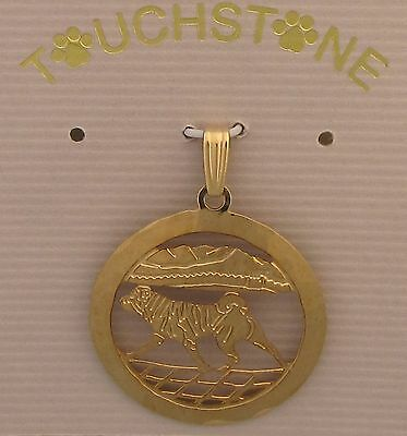 Shar Pei Jewelry Gold Pendant  by Touchstone