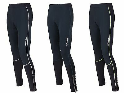 AIRTRACKS Winter Fahrradhose Lang Pro / Thermo Radhose Windstopper / Gepolstert