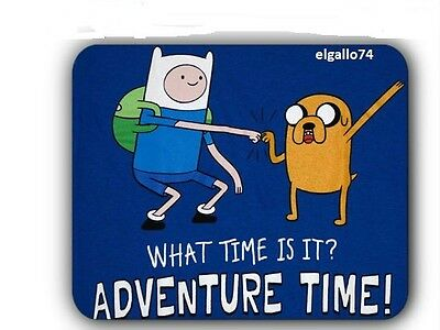 ADVENTURE TIME FINN AND JAKE MOUSE PAD COMPUTER TOY ACTION FIGURE SET TOY #4
