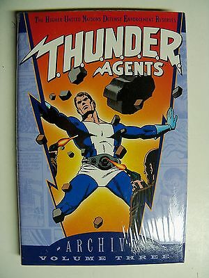 THUNDER AGENTS Archives Volume 3 HARDCOVER Mint SALE LOW SHIPPING