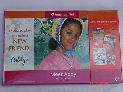 American Girl~Addy Activity Set