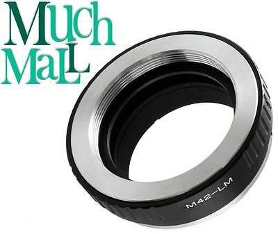 M42 Screw Mount Lens to Leica M mount L/M adapter M8 M9 M9P M-E Type 240 M7 M6
