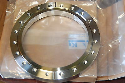 "Lesker F0800X600NT, Vacuum Flange, 304SS,  8"" x 6"", Tapped,  New"