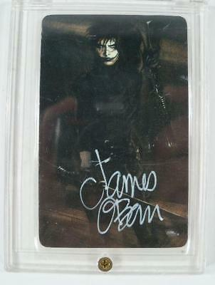 Rare The Crow 1995 PATCO Phone Card Signed James OBarr