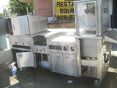 Hot Dog Stand, $ Reduced , Stainless Steel, Casters, Loaded, 900 Items On E Bay