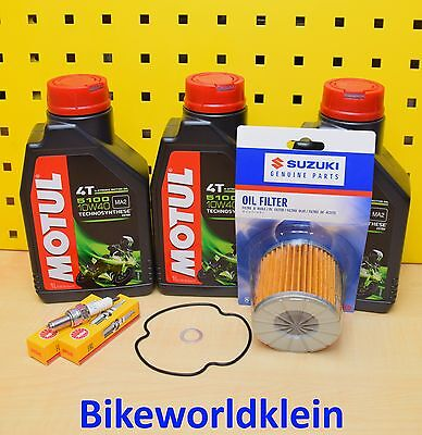 Suzuki GS 500 E / F Bj. 88-10 Service kit Wartungs kit Inspektion s set Paket