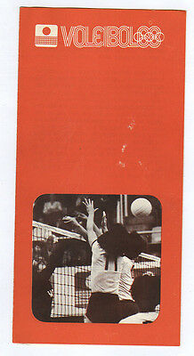 Orig.PRG / Guide    XIX.Olympische Spiele MEXICO 1968  -  VOLLEYBALL  !!  SELTEN