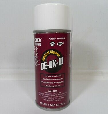 DEOXID / Deoxit Premium Electronic Contact Cleaner Spray De-Ox-Id / de-ox-it