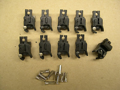 10 Repro American Flyer Universal Knuckle Couplers+Pins