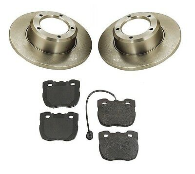 Land Rover Discovery 94-99 Front Brake Kit with Rotors & Semi Metallic Pads