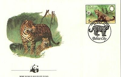 (70286) FDC  - Belize - Jaguar- 1983