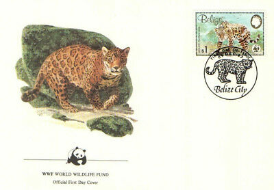 (70287) FDC  - Belize - Jaguar- 1983