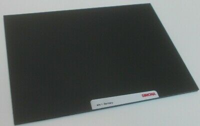 6mm HDPE SHEET (300grade)  300MM X 150MM BLACK