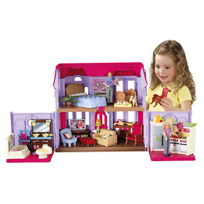 New Fisher Price Loving Family Manor Extra Lg. Rooms Nr