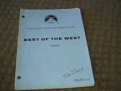 Best Of The West Tv Shooting Script Episode  The Funeral