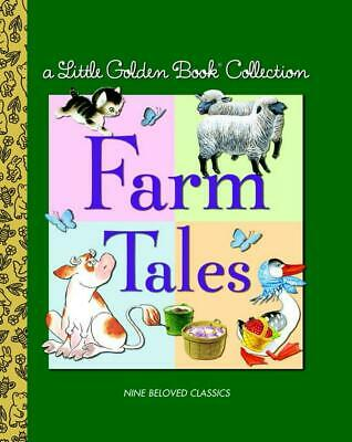 Farm Tales by Golden Books (English) Hardcover Book Free Shipping!