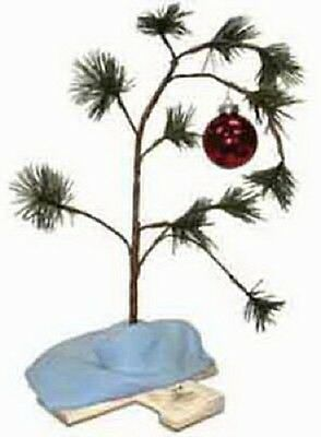(12) Product Works 14211 Musical Charlie Brown Lonely Christmas Trees w  Blanket
