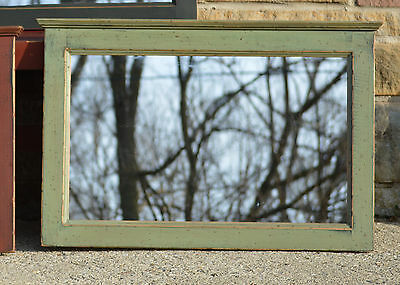 PRiMiTiVE HANDCRAFTED ELK SAGE GREEN > BLACK COUNTRY COTTAGE MIRROR / HZ