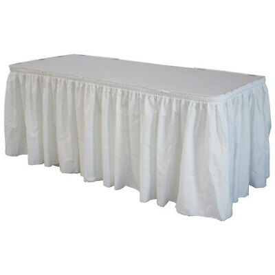 White Polyester Skirting