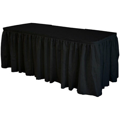 Black Polyester Skirting