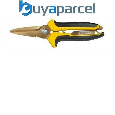 Stanley Shears STHT0-14103 Titanium Coated 0-14-103 Straight Cut 200mm STA014103
