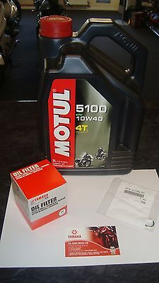 New Yamaha YZF R6 Genuine Service Kit Oil Filter Motul Oil YZFR6 YZF-R6