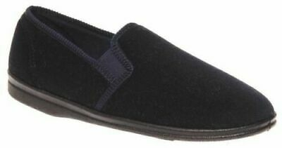 Mens Slippers Grosby Percy Brown or Navy Slipper Size 6-12 New