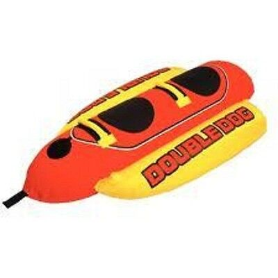 New Airhead 2 Rider Double Dog Towable Boat Tube Air Hd2