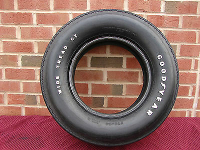 Nos F70-14 Goodyear Speedway Wide Tread Gt Tire Wl 69 70 Camaro Chevelle Mustang