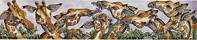 "Enid Groves ""Reach For The Sky"" Giraffe Print"