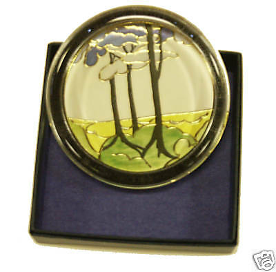 Clarice Cliff Large Paperweight - Blue Firs