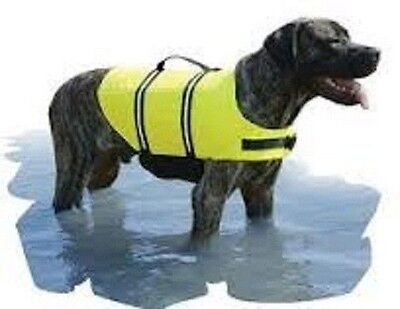 New Paws Aboard Doggy Life Jacket Yellow Xl Over 90 Lbs 1600