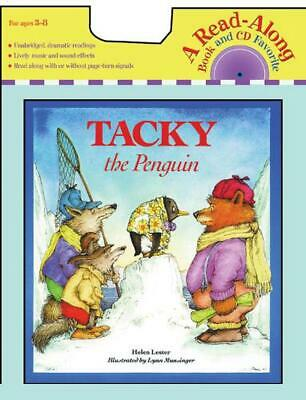 Tacky the Penguin [With CD (Audio)] by Helen Lester (English) Paperback Book Fre