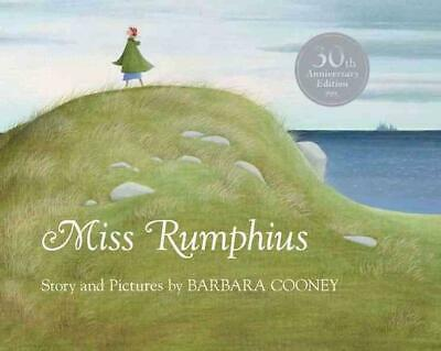 Miss Rumphius by Barbara Cooney (English) Hardcover Book Free Shipping!