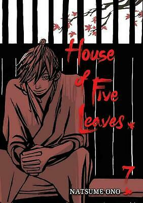 House of Five Leaves, Volume 7 by Natsume Ono (English) Paperback Book Free Ship