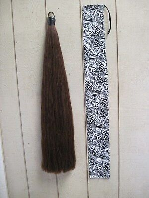 New Tail Extension Drk Chestnut 1lb by KATHYS TAILS Free ship&bag AQHA APHA PtHA