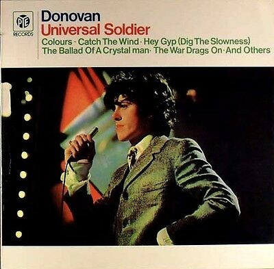 LP DONOVAN - Universal Soldier - washed - cleaned # L859